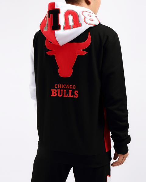 Pro Standard NBA Chicago Bulls Split Hoody Red