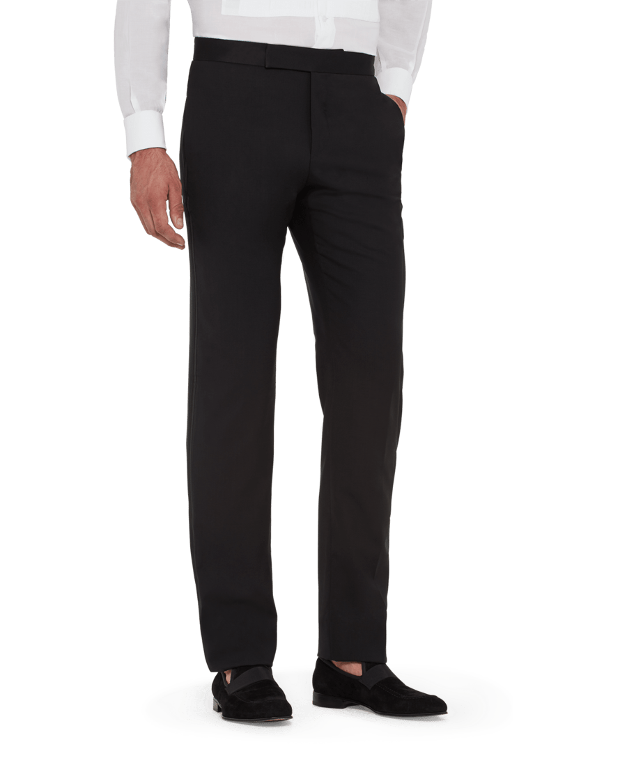 Zanella Pierce Formal Slack Black