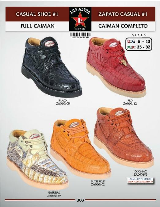 fd8bec75c40 Los Altos Full Caiman Gator Boot At The Mister Shop Since 1948