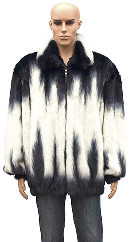 Winter Fur Men's Full Skin Two Shade Mink Jacket BIGS M59R01WTT