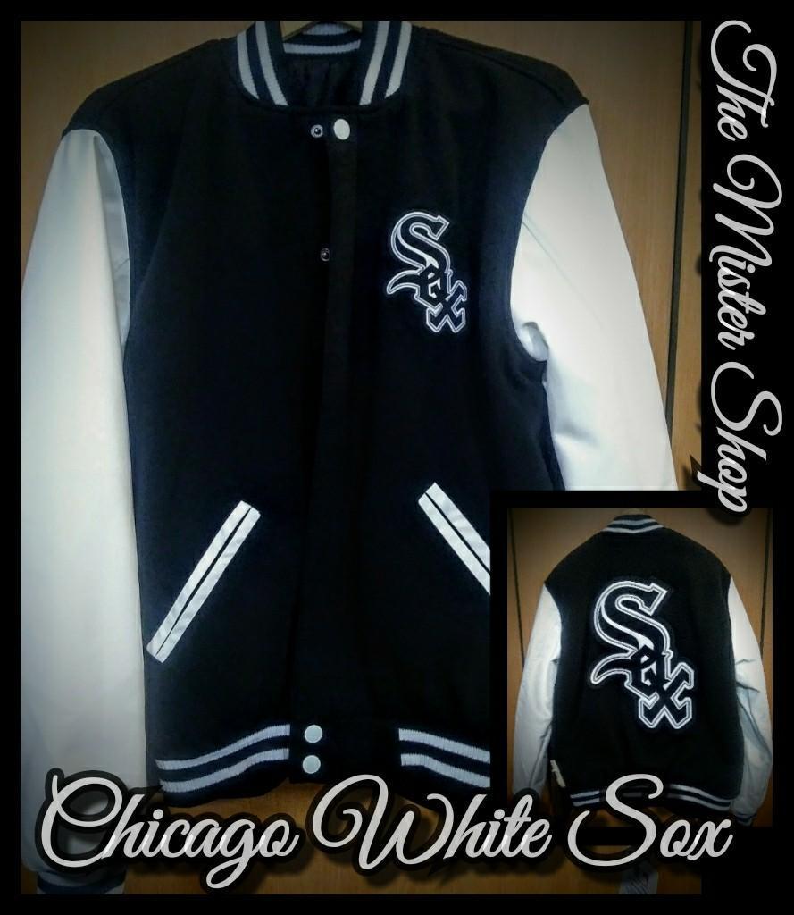 JH Design Chicago White Sox Reversible Jacket