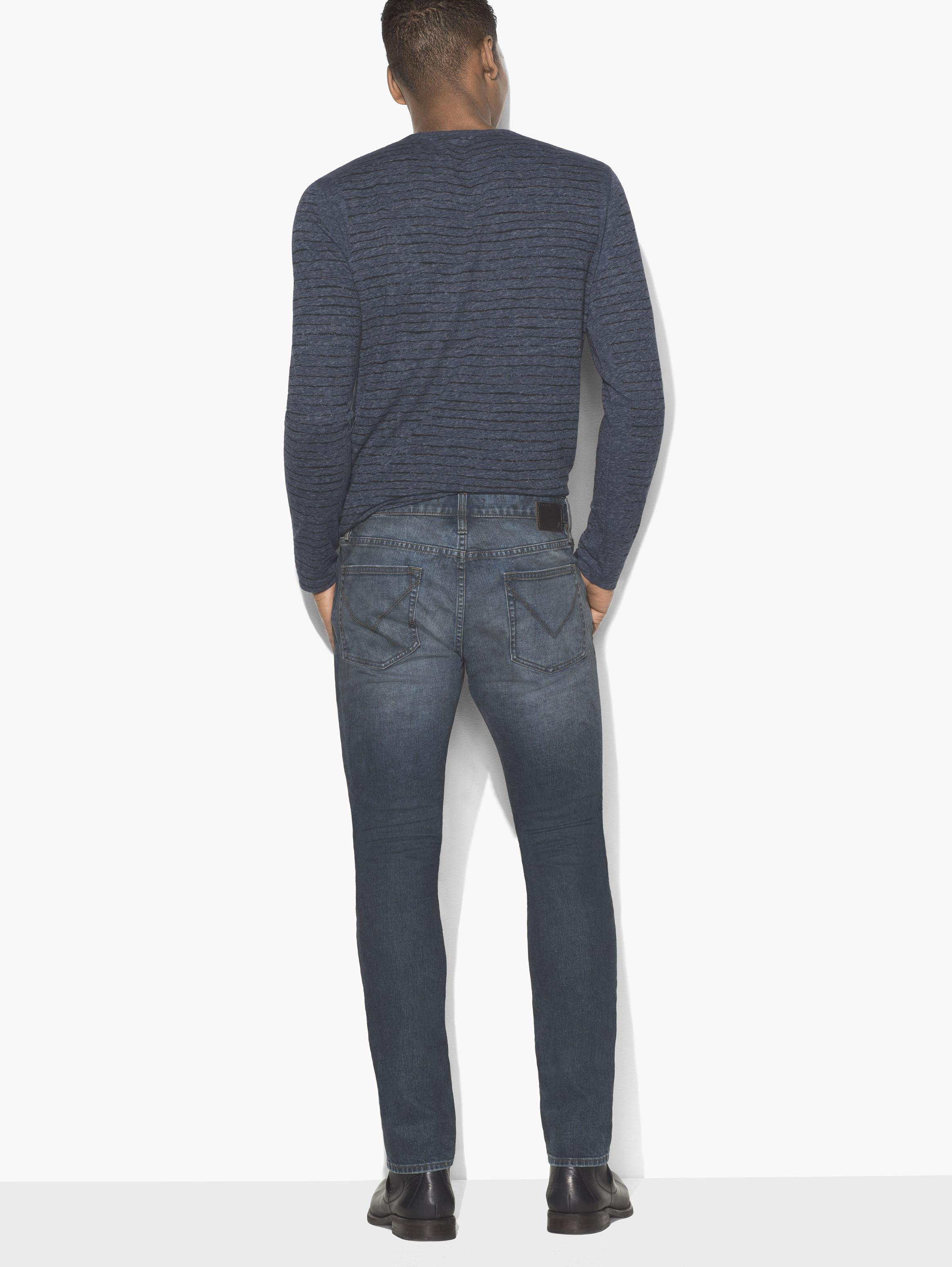 John Varvatos Skinny Fit Wight Jean Blue
