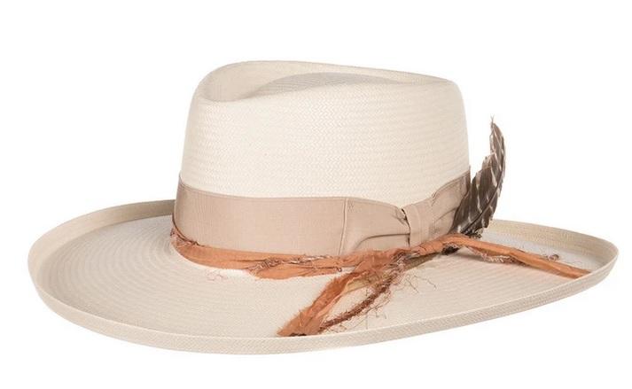 Stetson Kings Row Peach Band Hat