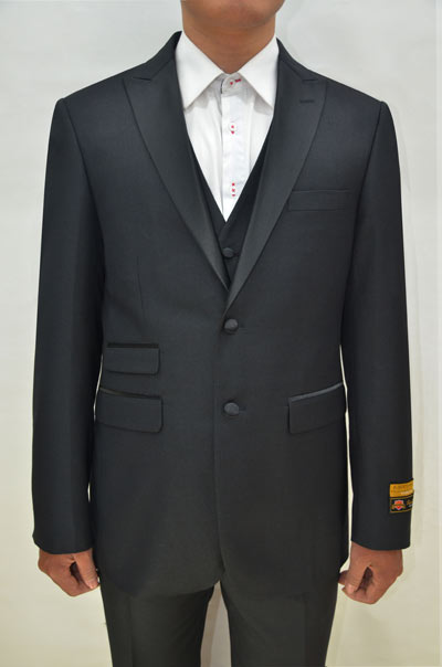 Alberto Nardoni Single Button Tuxedo Suit