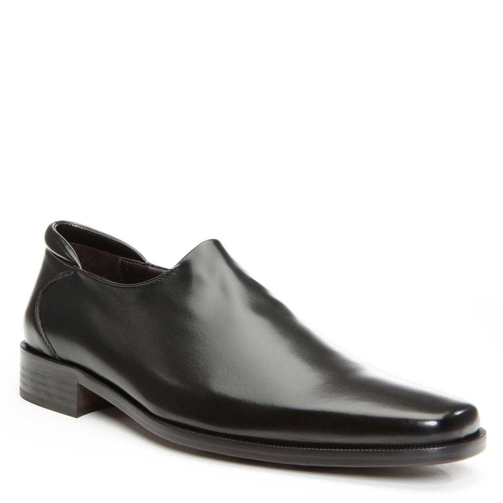 Donald Pliner Nappa Stretch Rex Loafer Black