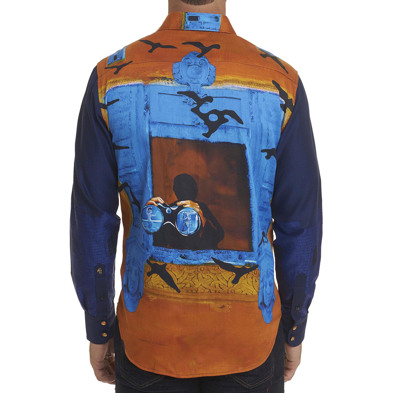 NEW Robert Graham Limited Edition The Lofton Sport Shirt Multi