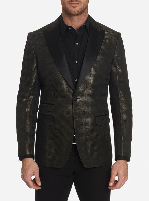 Robert Graham Mr Smith Sport Coat Gold