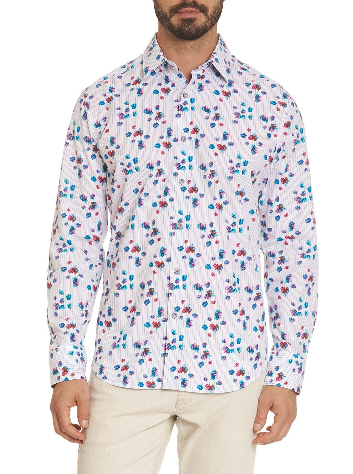 Robert Graham Amoy Classic Fit Sport Shirt Multi