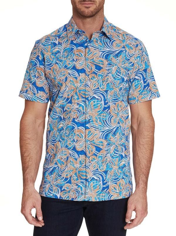 Robert Graham City Limits Short Sleeve Sport Shirt