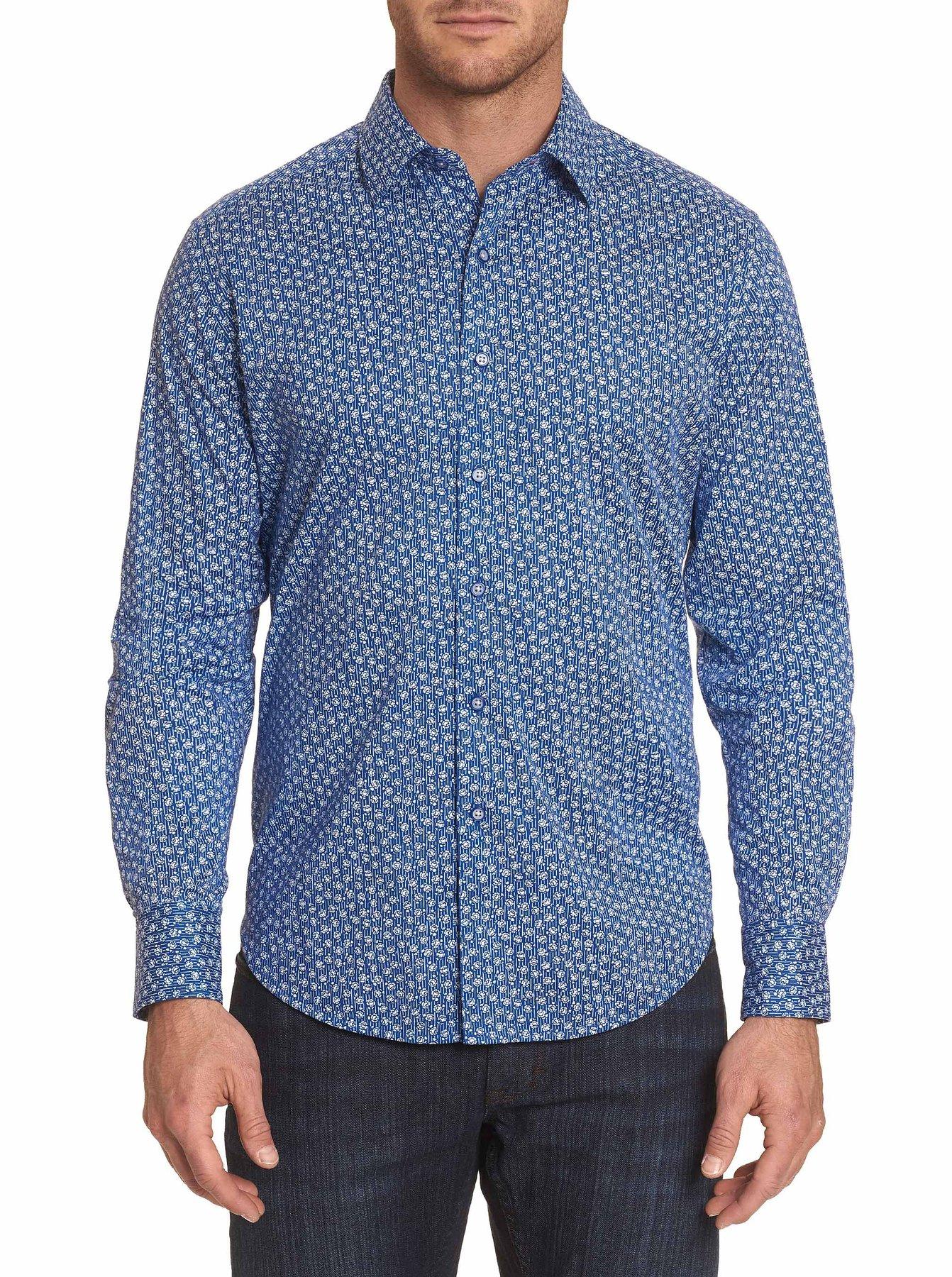 Robert Graham Boulevard Sport Shirt Blue
