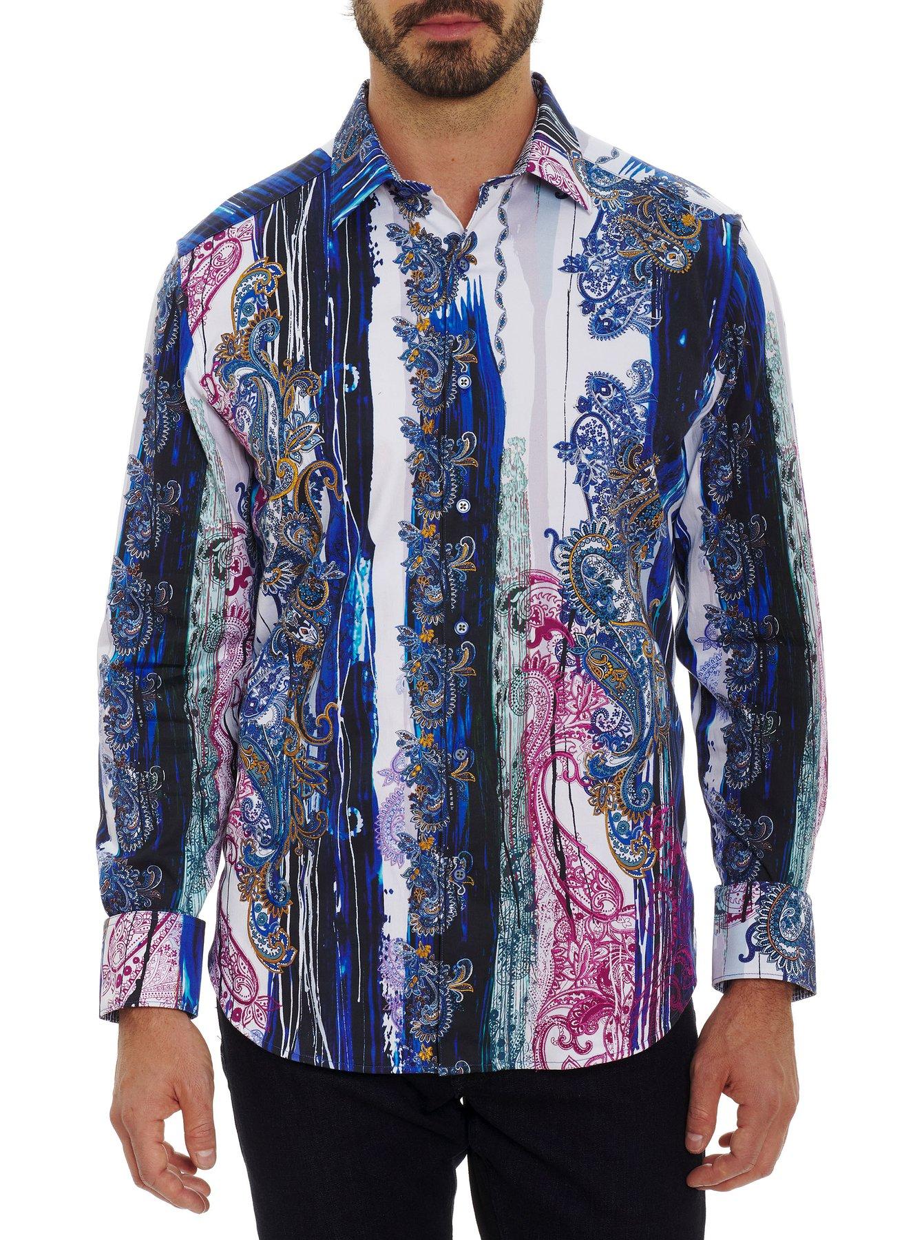 Robert Graham Christo Classic Fit Sport Shirt Multi
