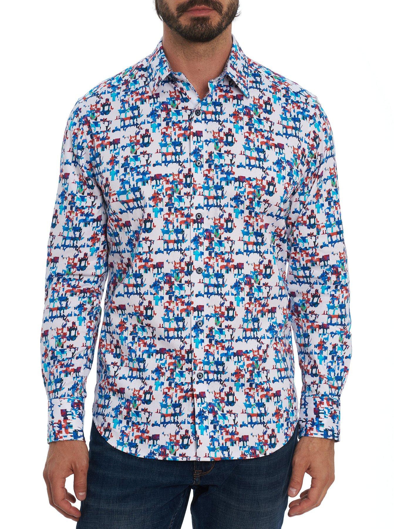 Robert Graham Diamond Classic Fit Sport Shirt Multi