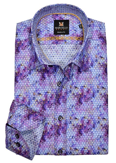 Marcello Classic Fancy Sport Shirts W086