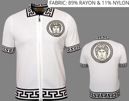 Men's Zanella Modern Fit Dress Shirt White