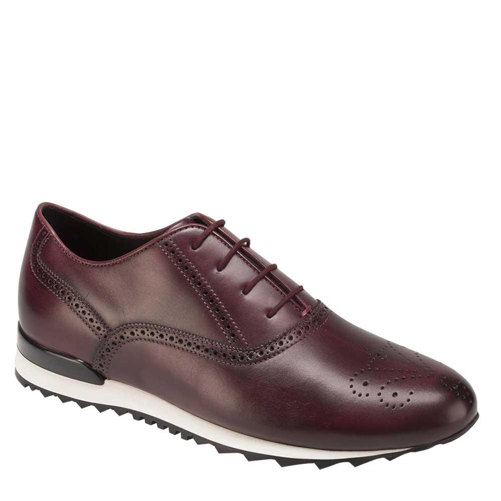 Bacco Bucci Keylor Calfskin Lace Up Sneaker 3222-20