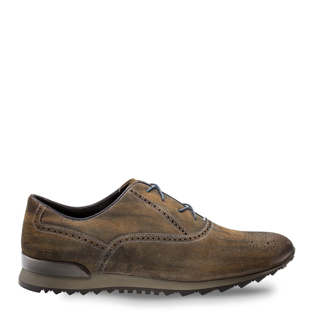 Bacco Bucci Keylor II Suede Sneaker Tan 3222-46