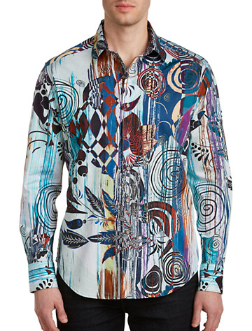 Robert Graham Borrego Sport Shirt Multi Stock