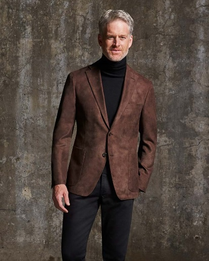 Coppley Santa Fe Microfiber Suede Sport Coat