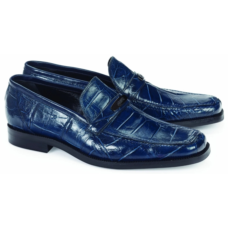2020 Mauri Alligator Loafer Wonder Blue 4692
