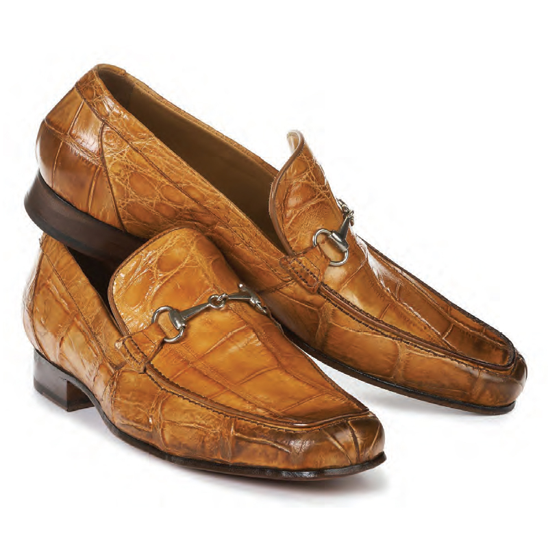 2020 Mauri Matrix Body Alligator Slip On Chestnut 4894
