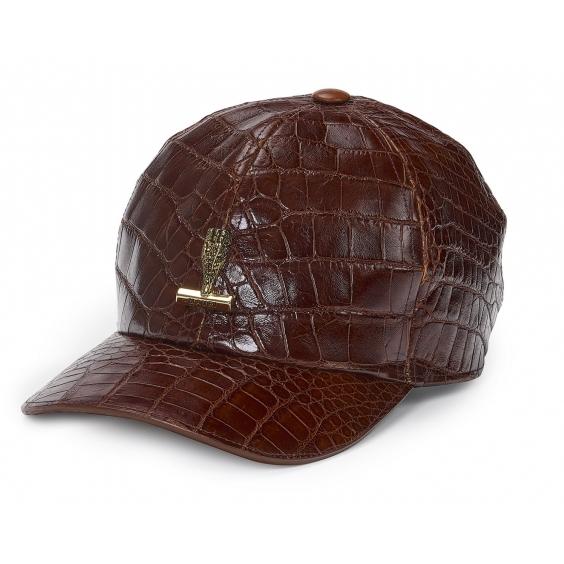 Mauri Alligator Hat W logo H65