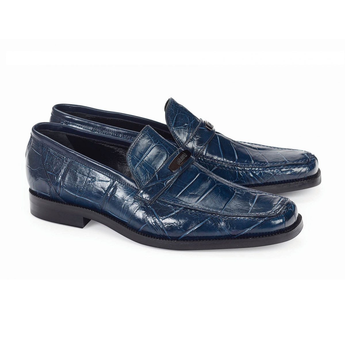 Fall 2018 Mauri Body Alligator Wonder Blue Loafer 9692-3