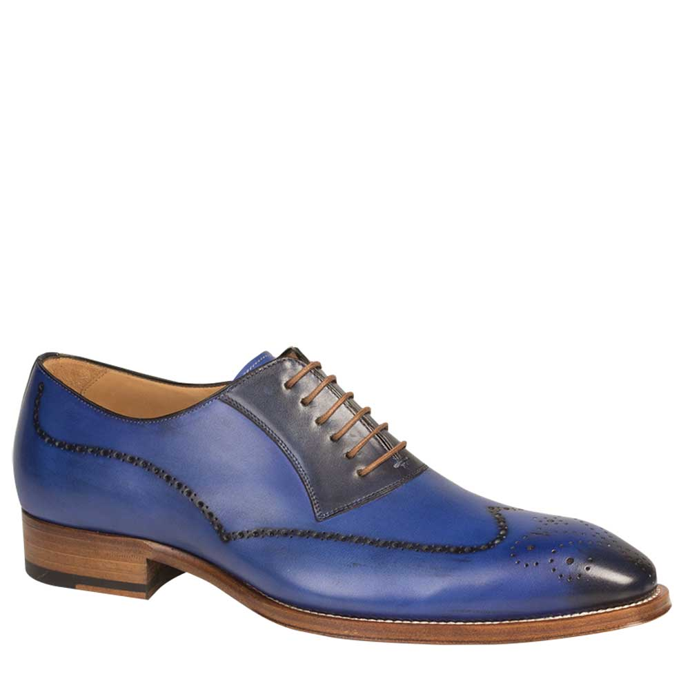 Mezlan Kelvin Calfskin Wing Tip Oxford Shoe 6657