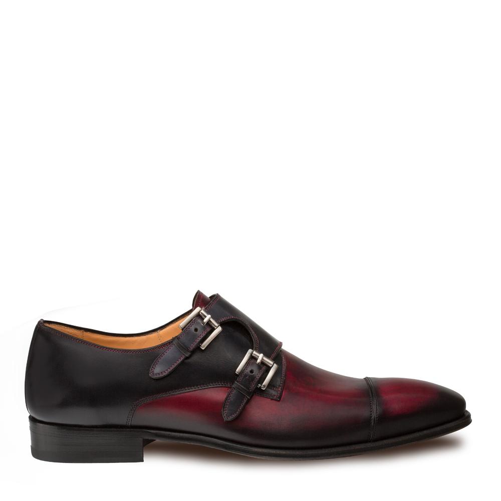 Mezlan Bardem Calfskin Double Monk Strap Shoe 8979