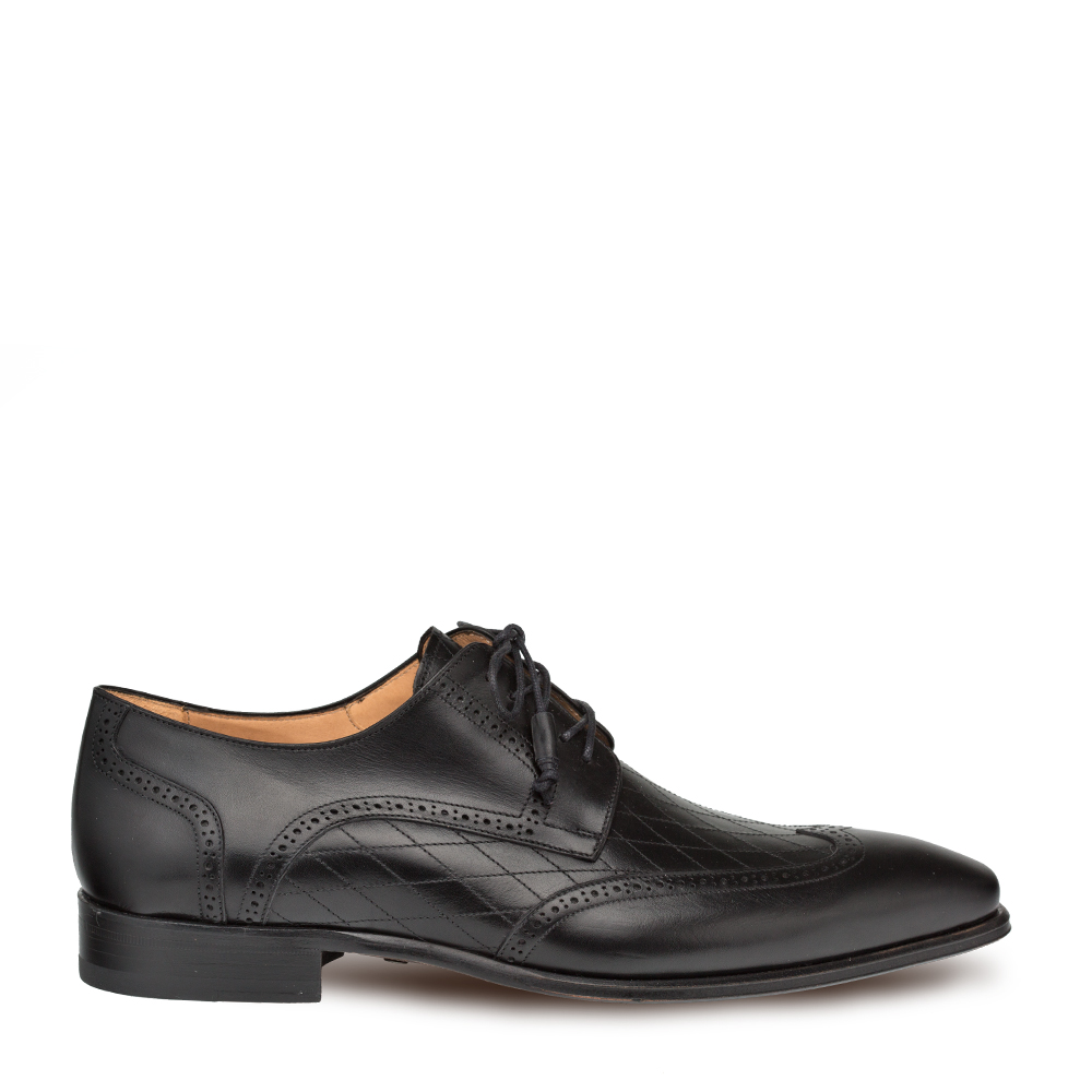 Mezlan Argento Calfskin Wing Tip Lace Up 9340