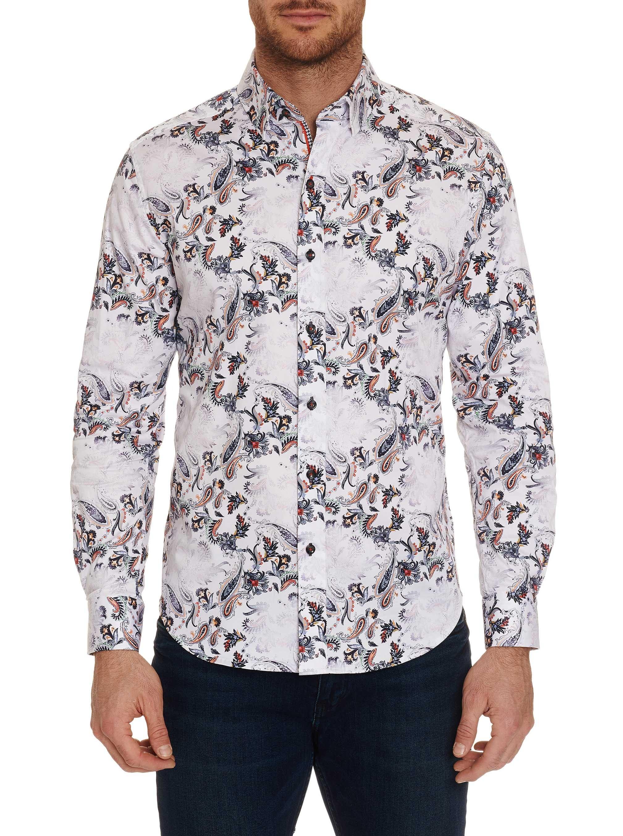 Robert Graham Andale Tailored Fit Sport Shirt
