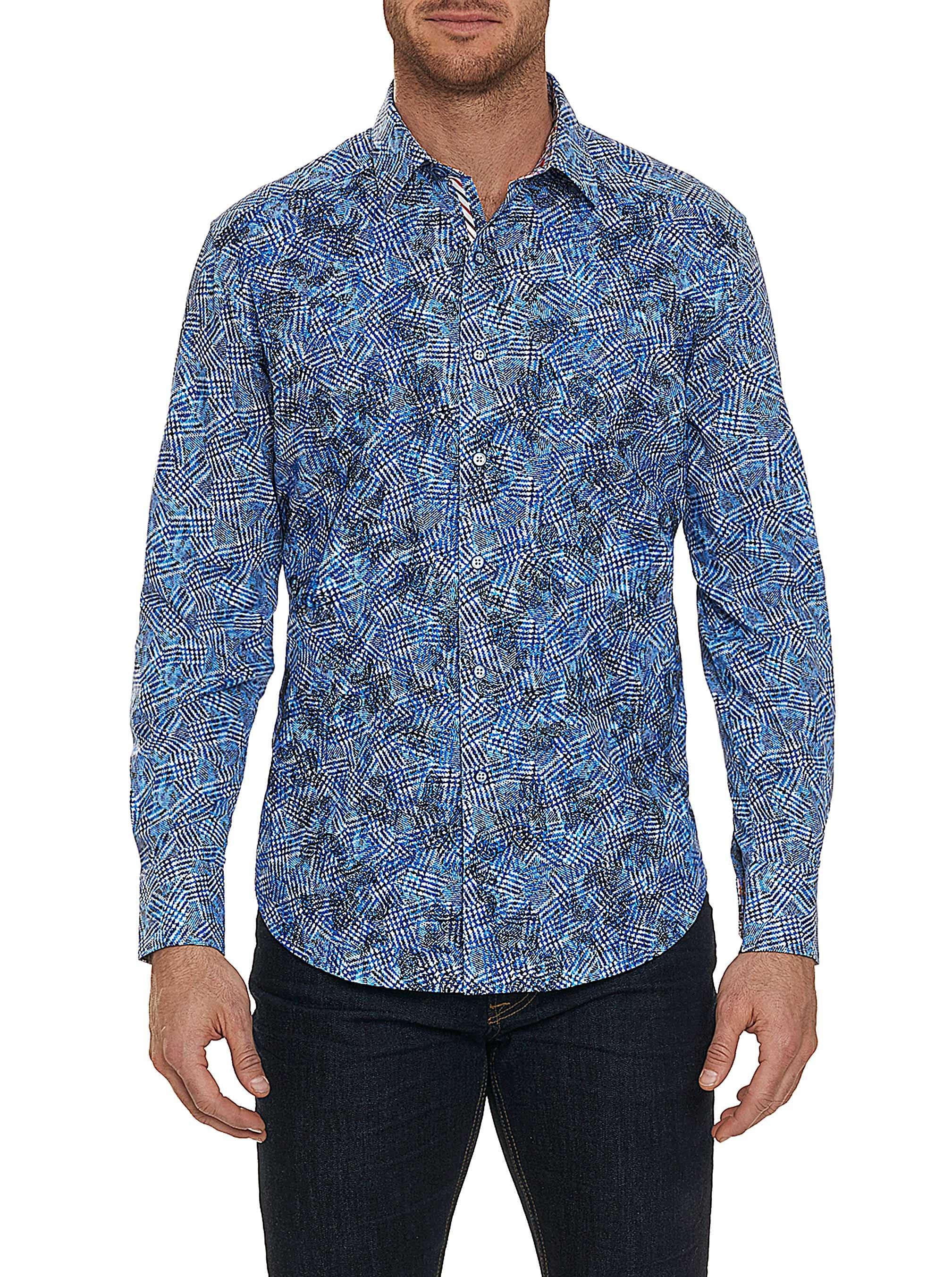 Robert Graham Hutchinson Sport Shirt Blue