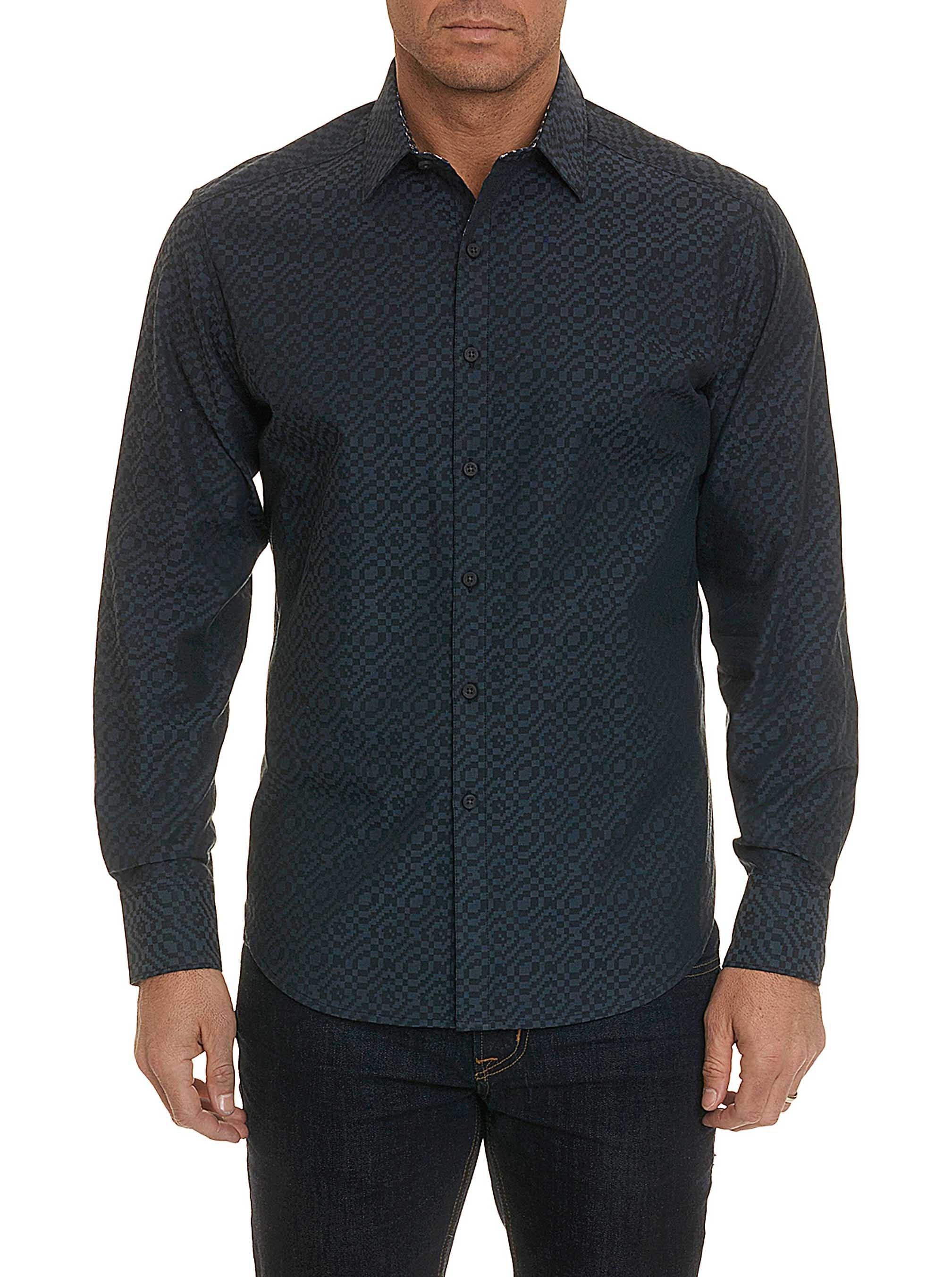 Robert Graham Falkland Sport Shirt Blue