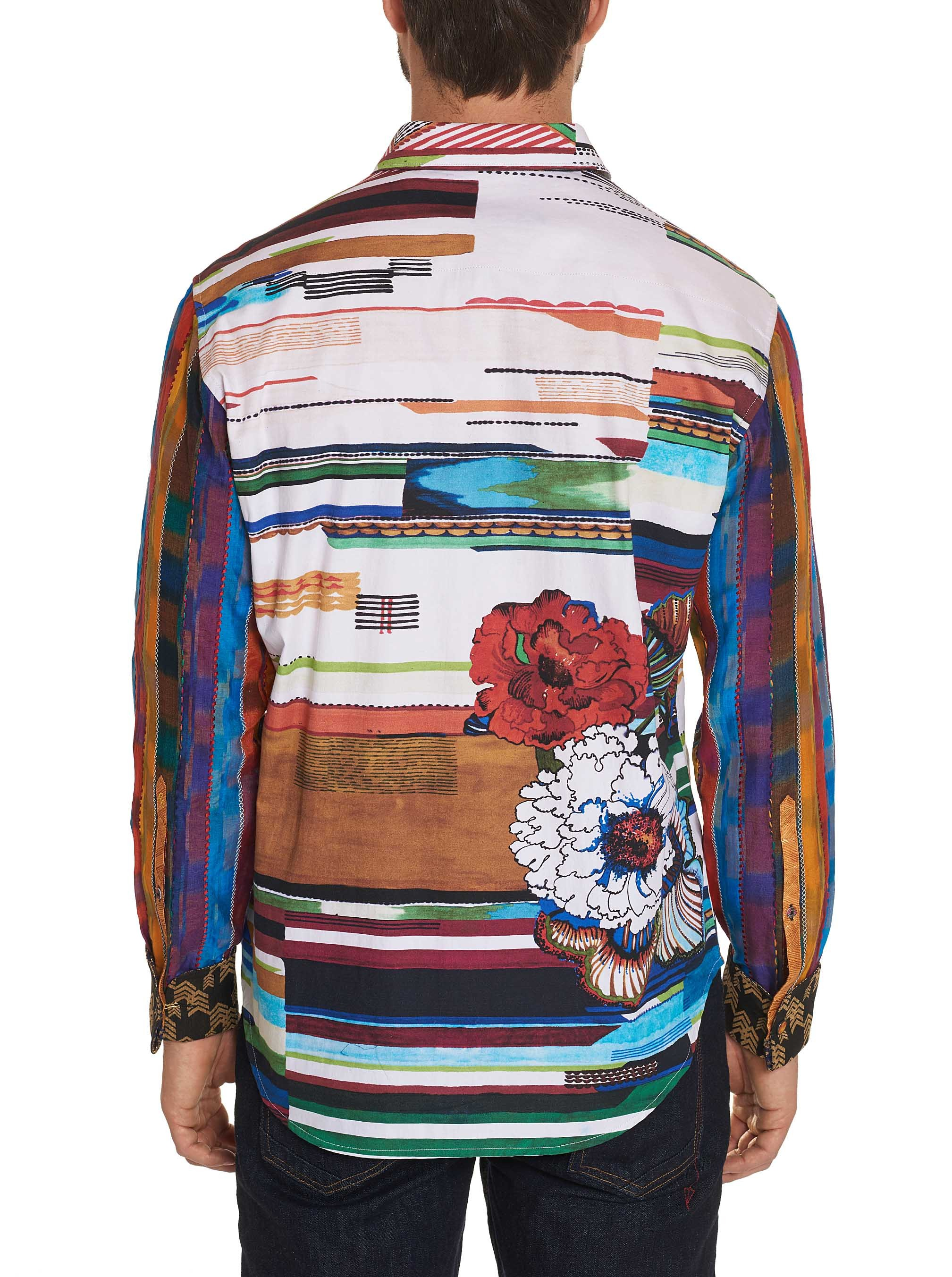 Robert Graham Limited Edition Nachostrong Sport Shirt Multi