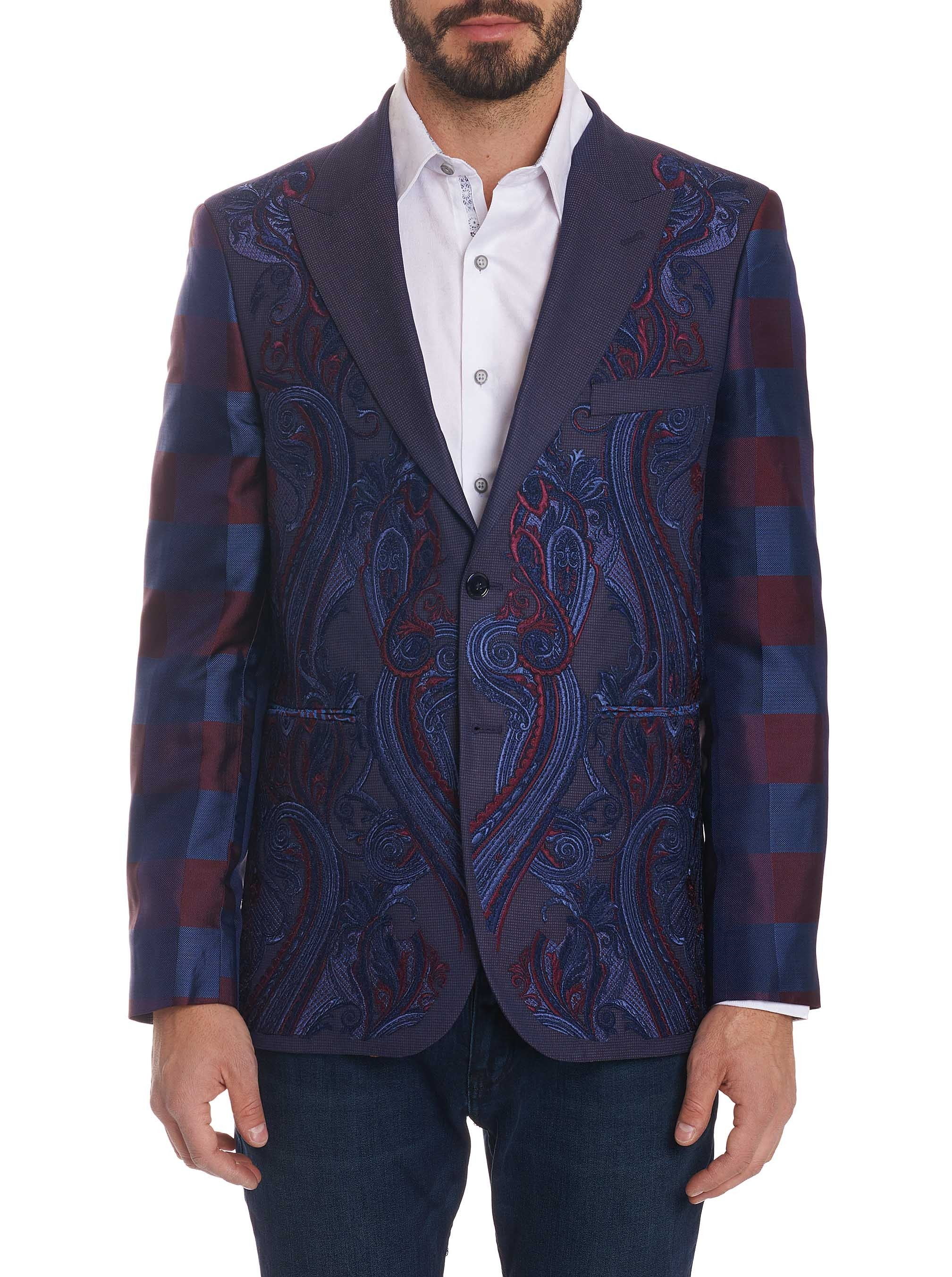 Robert Graham Limited Edition Royal Court Sportcoat Navy