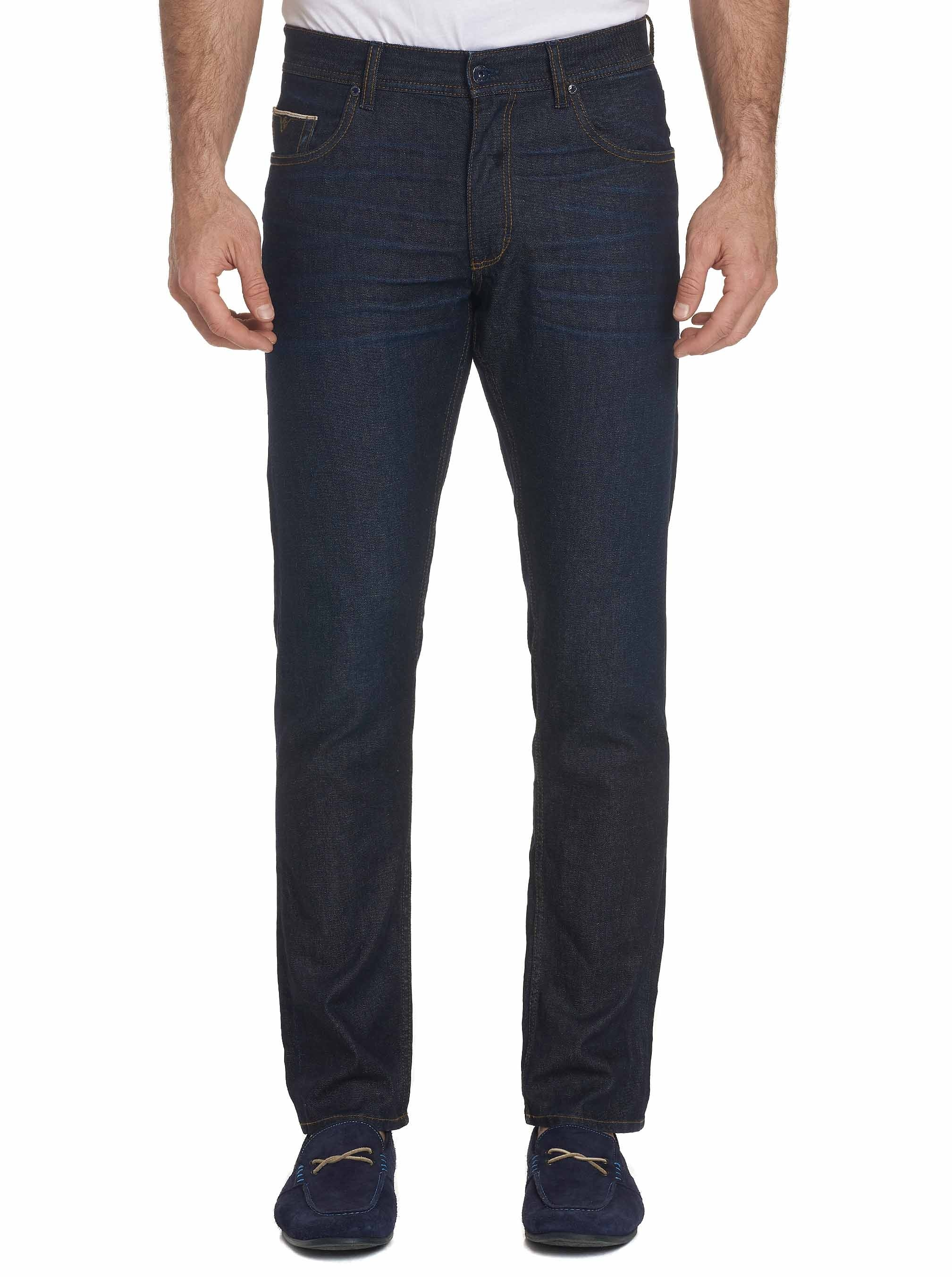 Robert Graham Denham Perfect Fit Jeans Indigo