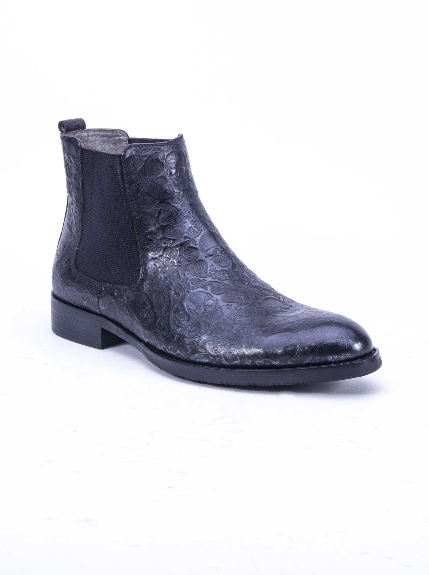 Robert Graham Driscoll Chelsea Boot Black