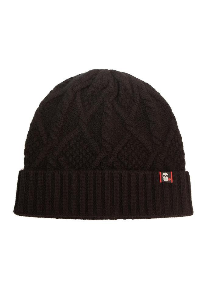 Robert Graham Cashmere Beanie Hat Black