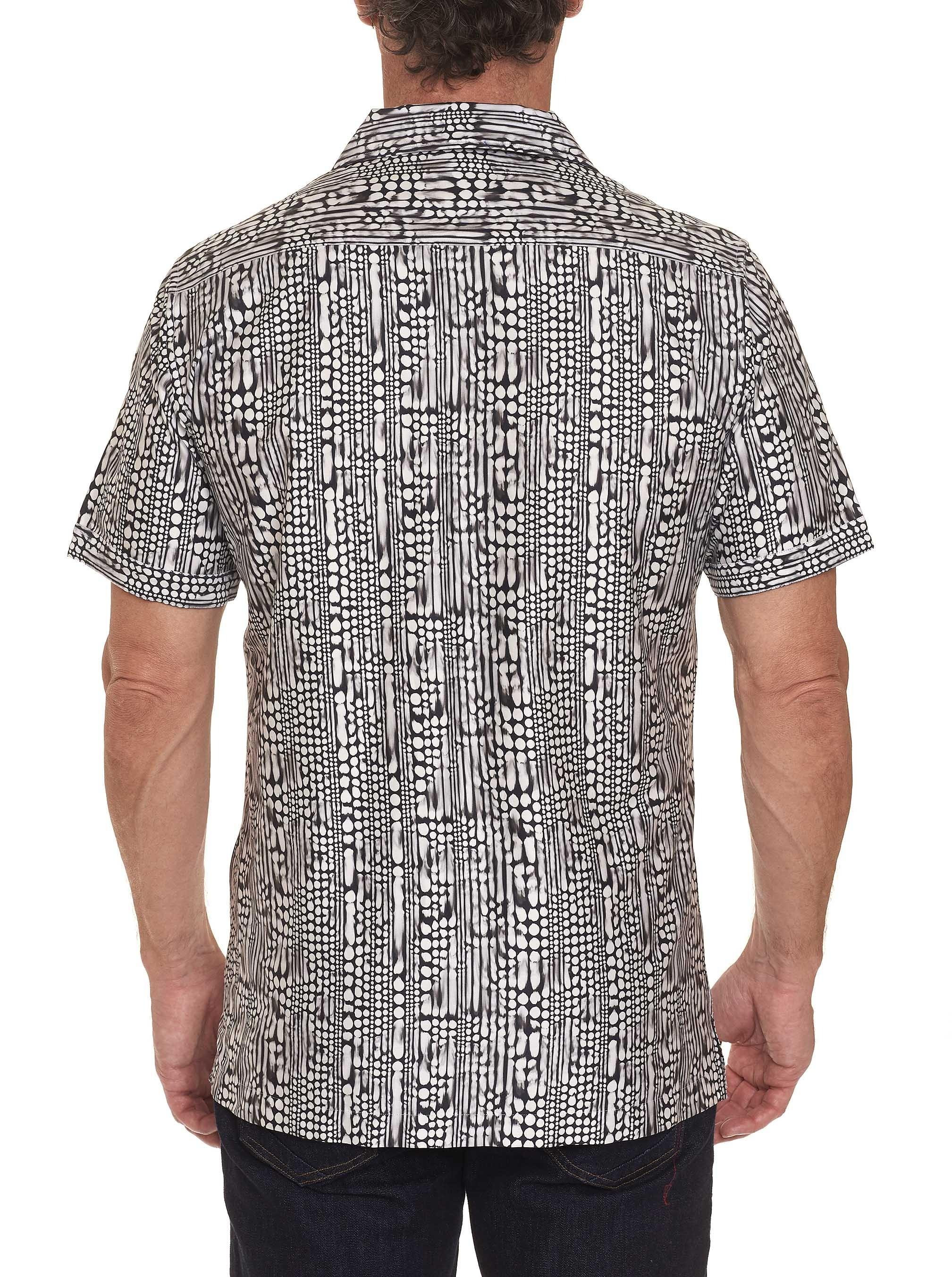 Robert Graham Goliath Short Sleeve Shirt Black