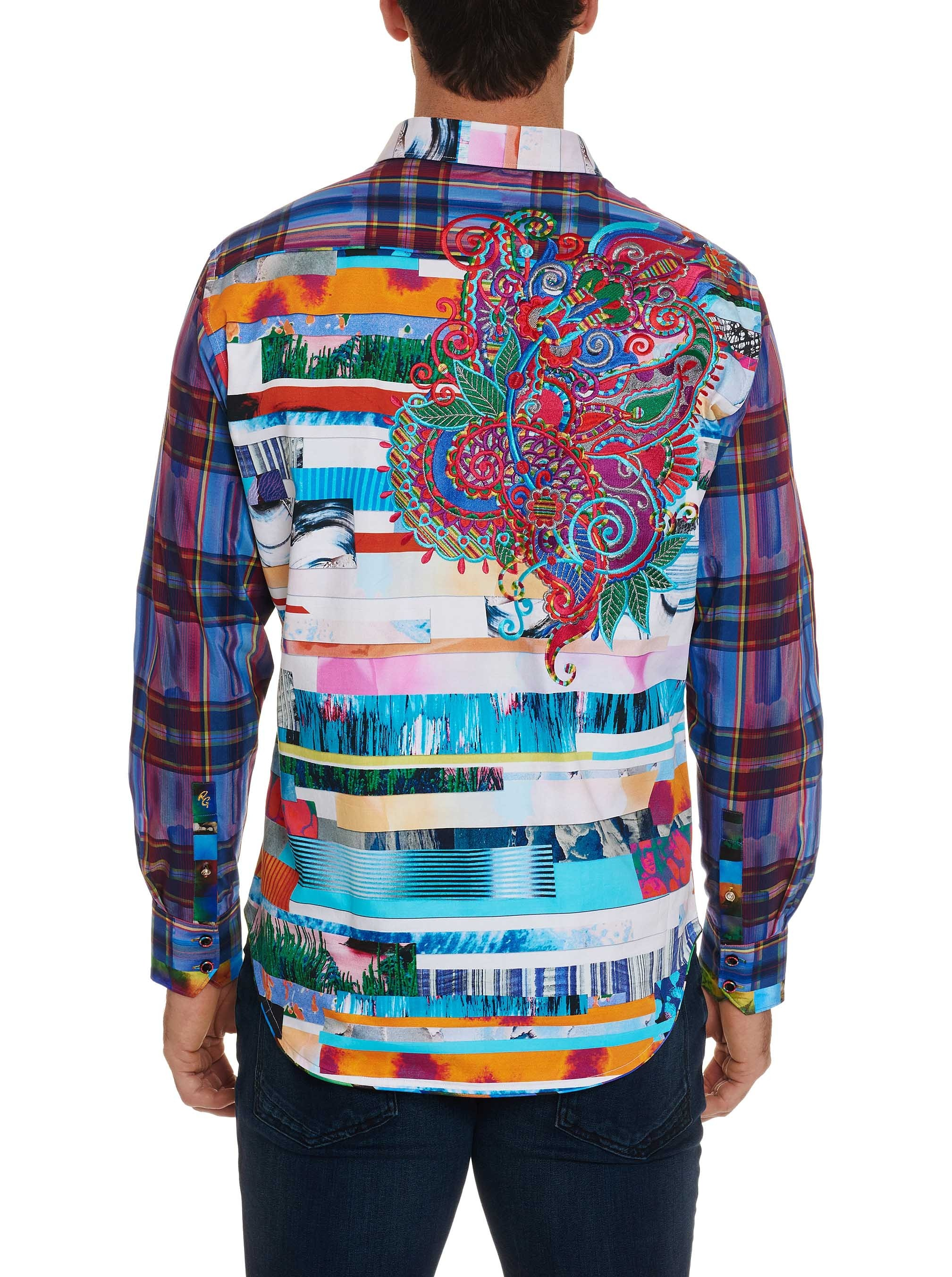 Robert Graham Limited Edition Breaking Lands Sport Shirt Multi