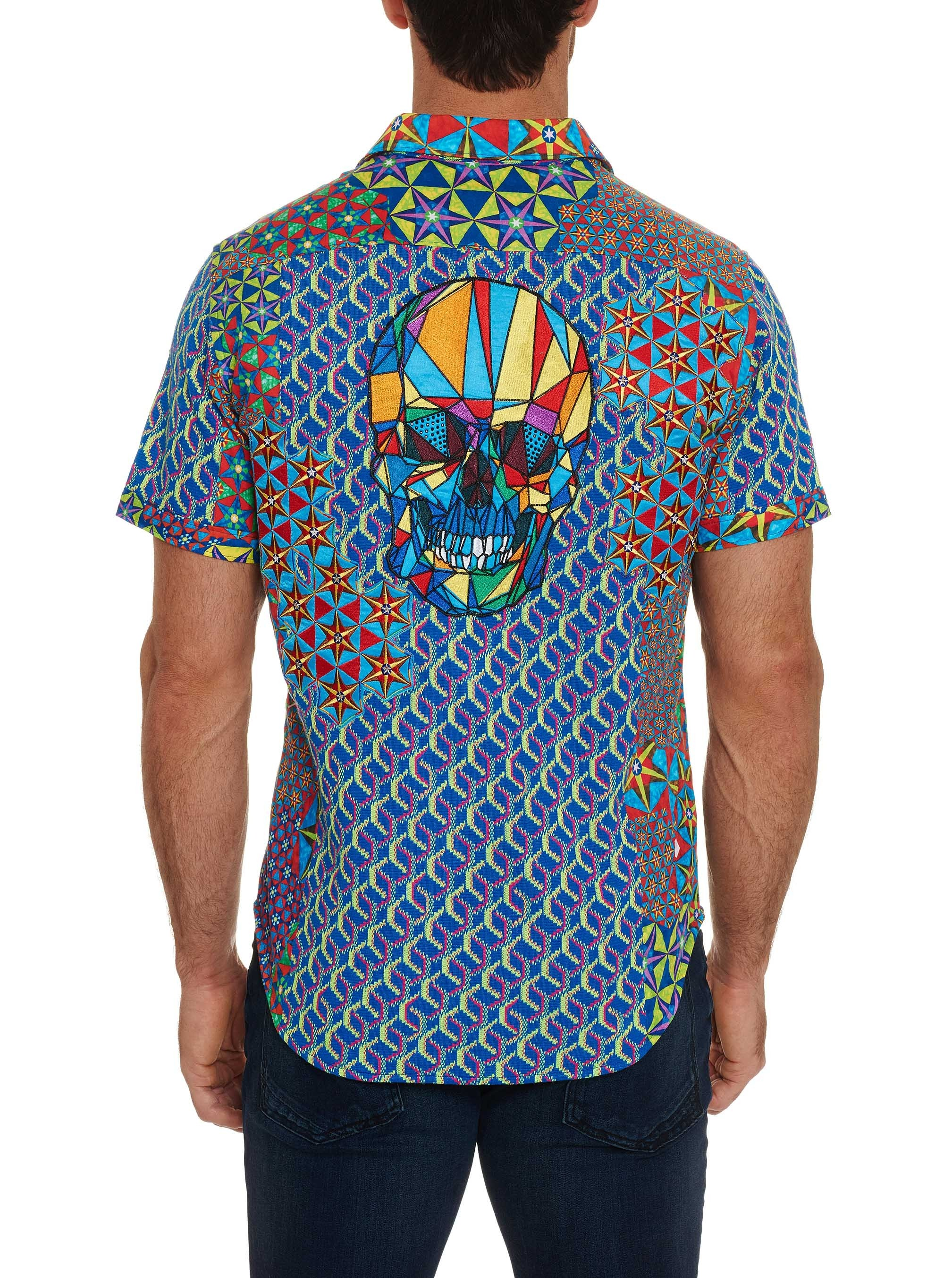 Robert Graham Limited Edition The Prism Short Sleeve Shirt Multi