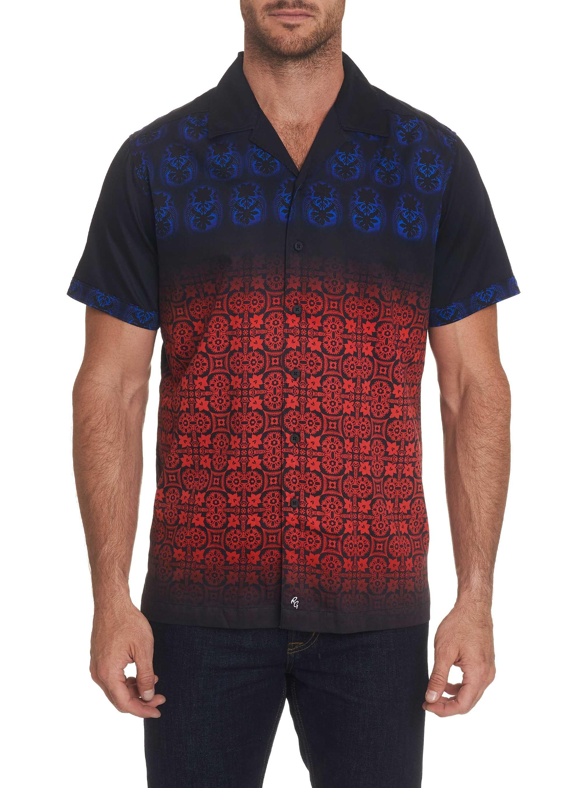 Robert Graham Dynasty Short Sleeve Shirt Multi