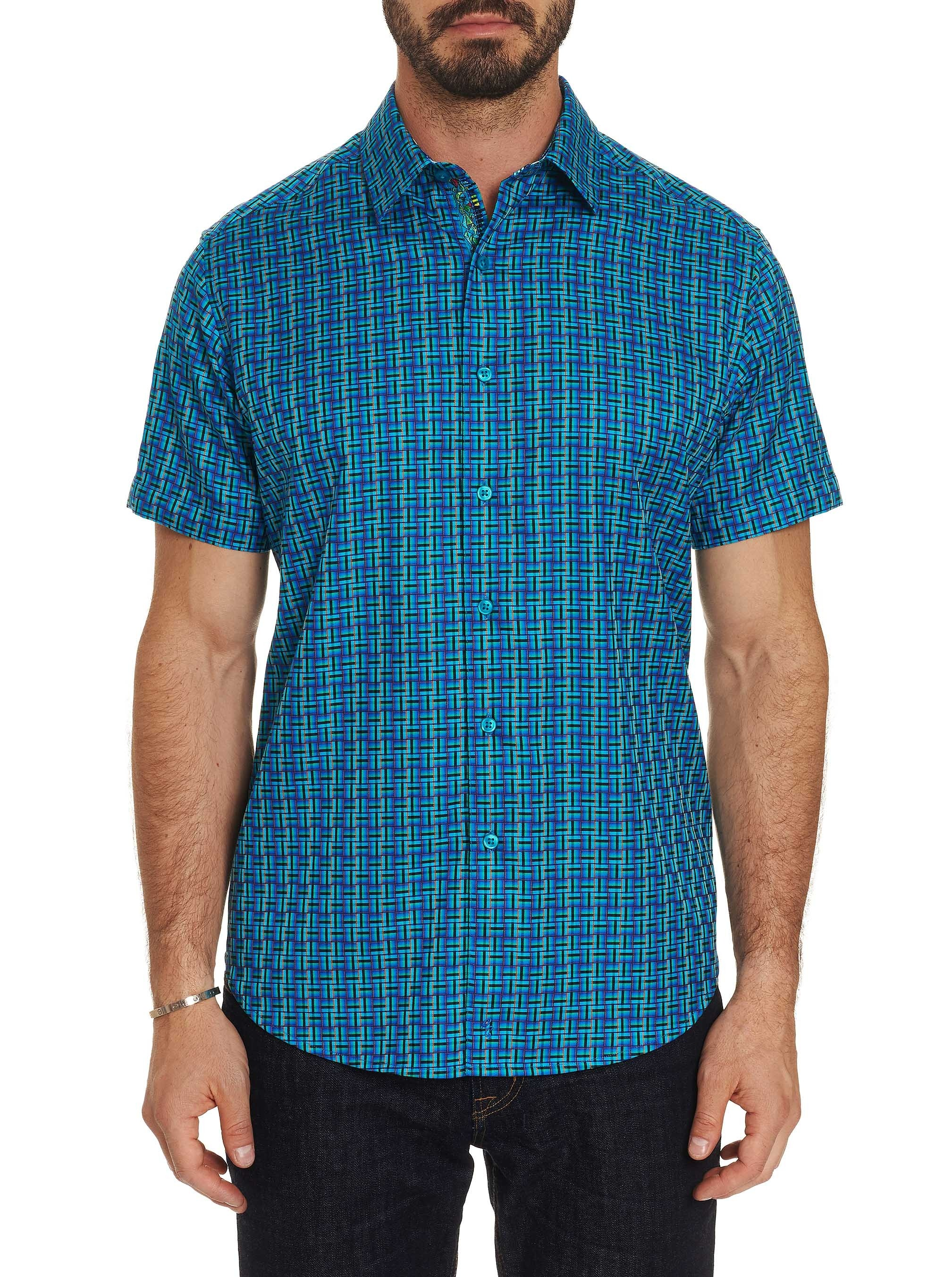 Robert Graham Capra Short Sleeve Shirt