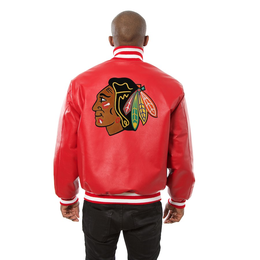 Chicago Blackhawks JH Design Leather Jacket