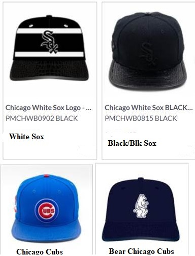 Pro Standard Chicago Logo Leather Strap Back