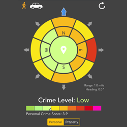 Crime and Place App- CCW Safe Edition