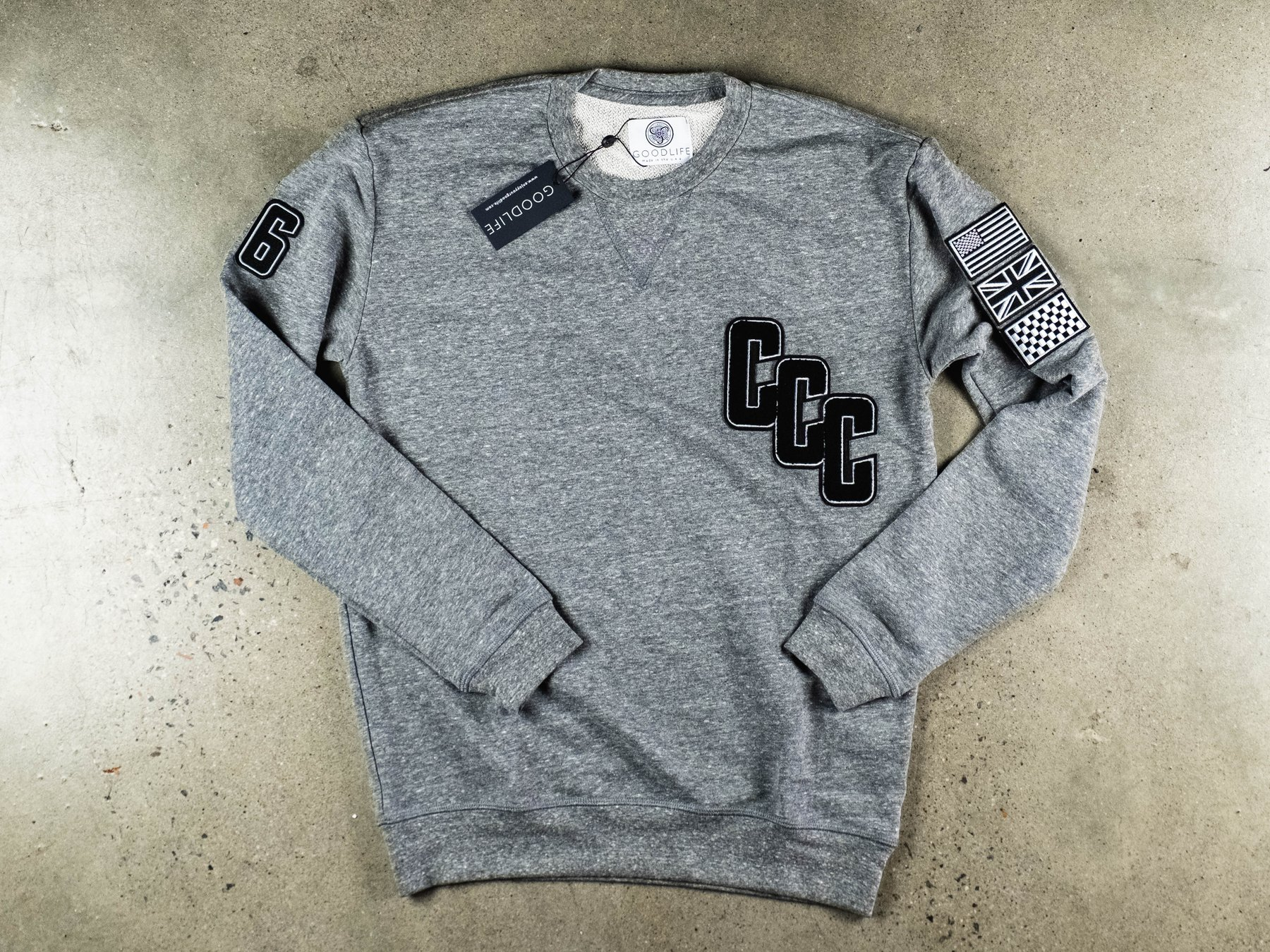 Victory Sweatshirt Grey - Small