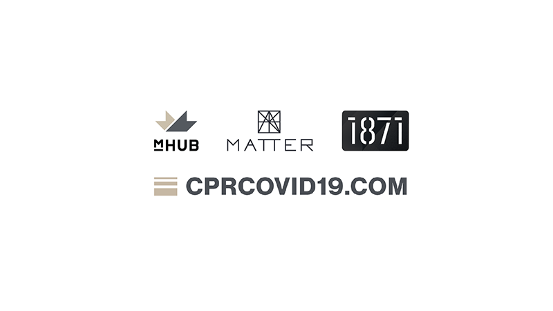 mHUB, MATTER and 1871 Raise $1.55M in Funding to Mobilize the Chicago Tech Community to Fight COVID-19