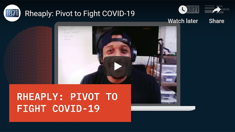 Rheaply: Pivot to Fight COVID-19