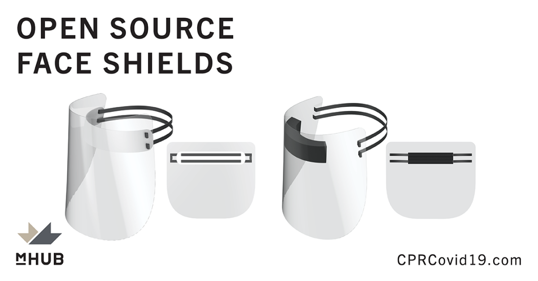 Open Source Face Shield Design