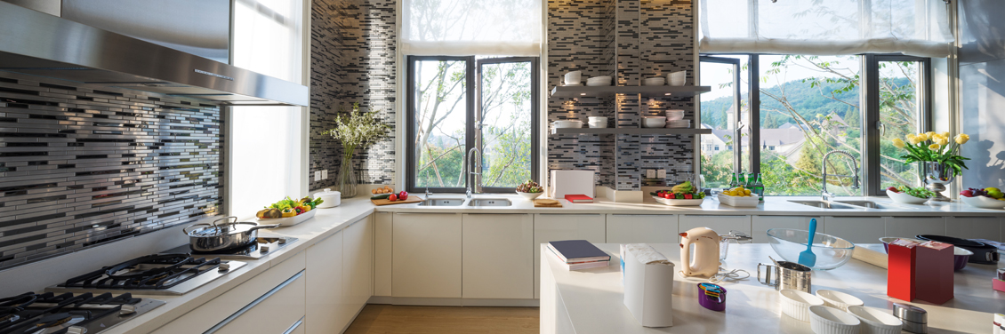 Find a Dynamic Backsplash to Compliment your Dream Kitchen